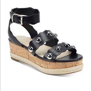 Marc Fisher fayth flatform espadrille sandals 10